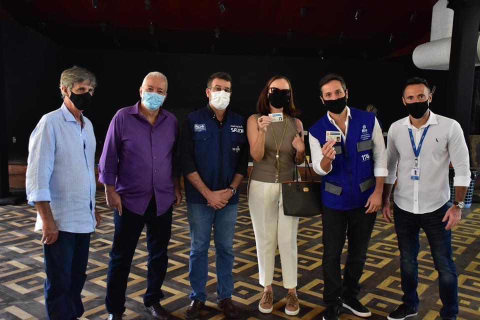 Na luta contra o Covid-19, o Club Municipal é mais um ponto de vacinação no Rio de Janeiro