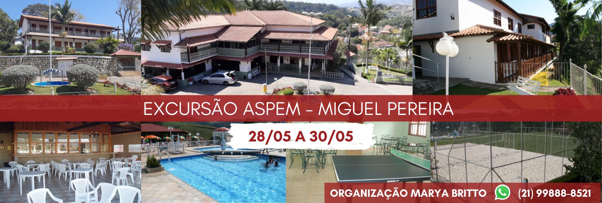 Excursão ASPEM – Miguel Pereira