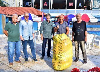 Inauguração de novas raias na piscina semiolímpica do Club Municipal